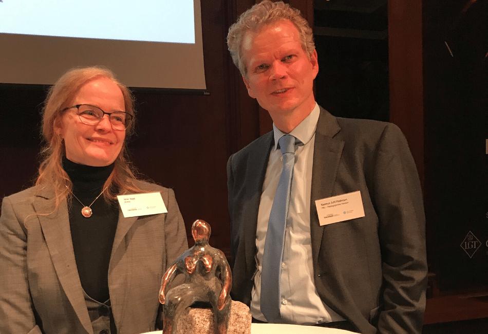 Jane Jagd vinder ESG-pris sponsoreret af Dansif